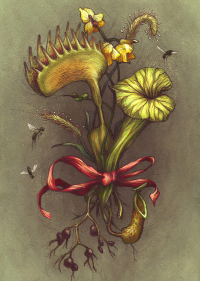 Carnivorous Bouquet by Kate O'Hara